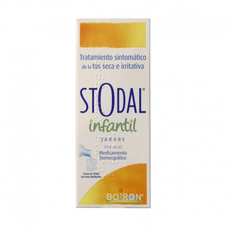 STODAL Infantil Boiron Jarabe 200ML