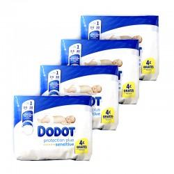 DODOT Sensitive Recién Nacido Talla 1 (2-5 kilos) PACK 120 Unidades