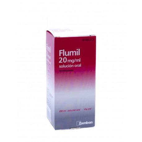 FLUMIL 20mg/ml Solución Oral 200ML