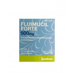 FLUIMUCIL Forte 600MG 20 Comprimidos Efervescentes