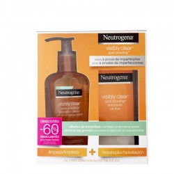 NEUTROGENA PACK Visibly Clear Spot Proofing (Limpiador + Aceite)
