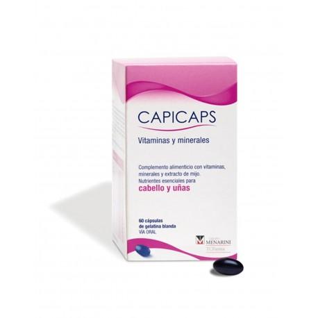 CAPICAPS Cabello y Uñas 60 Cápsulas