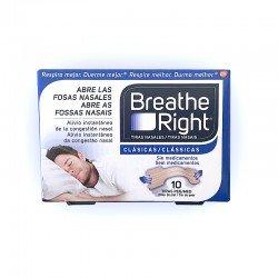 Breathe Right Tiras Nasales Clásicas Peq/Med. (10 unid)
