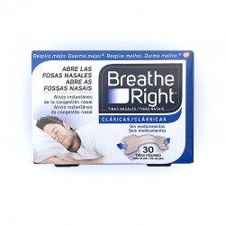 Breathe Right Tiras Nasales Clásicas Peq/Med. (30 unid)