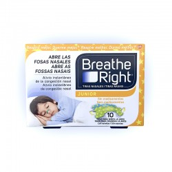 Breathe Right Tiras Nasales Junior (10 unid)