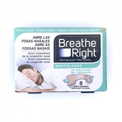Breathe Right Tiras Nasales Mentolado