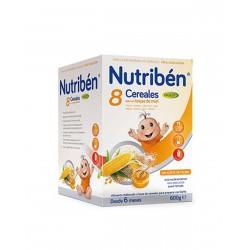NUTRIBÉN 8 Cereales y Miel Digest 600G
