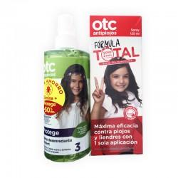OTC Spray Antipiojos Formula Total 125ML + Spray Desenredante 250ML