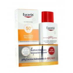 EUCERIN Sun Extra Light FPS50 150ML + Locion pH5 200ML