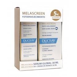 DUCRAY PACK Melascreen Fotoenvejecimiento Serum 30ML + Crema 50ML