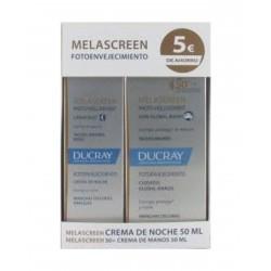 DUCRAY PACK Melascreen Fotoenvejecimiento Crema de Noche 50ML + Crema 50ML