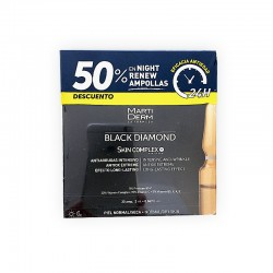 MARTIDERM Black Diamond Skin Complex 30 Ampollas x 2ML NEW!!!