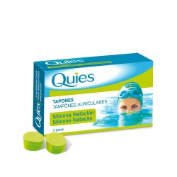 QUIES Tapon Silicona Natacion Adulto