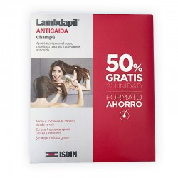 ISDIN LAMBDAPIL Champú Anticaída 2x400ML
