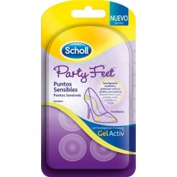 Scholl Gel Activ Party Feet Puntos Sensibles (6 unid)