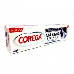 COREGA Máximo Sellado Prótesis Dentales 40G