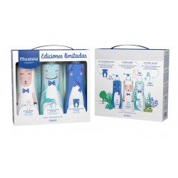 Mustela Leche Corporal 500Ml+Champú 500Ml+Gel 500Ml