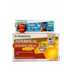 ARKOREAL Pack Jalea Real Familiar 2x20Ampollas
