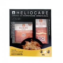 PACK HELIOCARE SPF50 GelCream Light 50ML + Heliocare Color Compacto SPF50 Light 10G