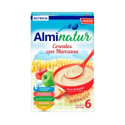 ALMINATUR Cereales con Manzana 250G