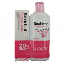 BEXIDENT Dientes Sensibles Colutorio 500ML + Pasta Dentifrica 75ML