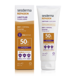 SESDERMA Repaskin Light Fluid SPF50 200ml+Dry Touch SPF 50 50ml