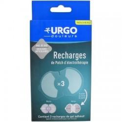 URGO 3 Recargas Parche de Electroterapia