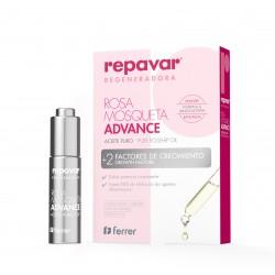 REPAVAR Regeneradora Aceite Puro Rosa Mosqueta Advance 15ML