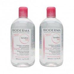 BIODERMA Sensibio H2O Agua Micelar Piel Sensible 2x500ML