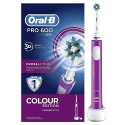 ORAL-B Cross Action Pro600 Cepillo Eléctrico Morado