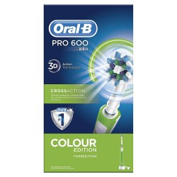 ORAL-B Cross Action Pro600 Cepillo Eléctrico Verde