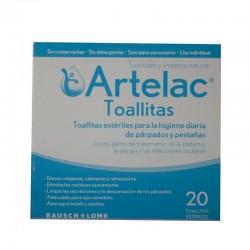 ARTELAC 20 Toallitas Estériles 20ml