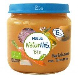 NESTLÉ Naturnes Bio Puré Hortalizas con Ternera 200G