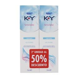 DUREX KY Sensilube Gel Lubricante 2x75ML
