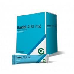 Ibudol Ibuprofeno 400MG 20 Sobres
