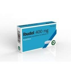 Ibudol Ibuprofeno 400MG 20 Comprimidos