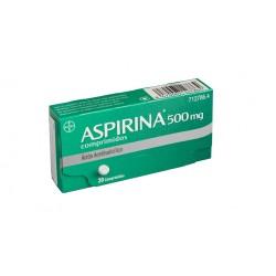 BAYER Aspirina 500mg 20 Comprimidos