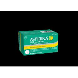 BAYER Aspirina C 10 comprimidos efervescentes.