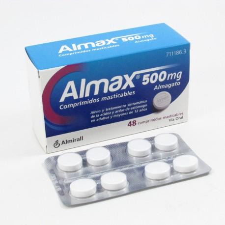 ALMAX 500MG 48 Comprimidos Masticables