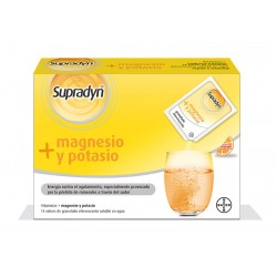 SUPRADYN Magnesio y Potasio 14 sobres