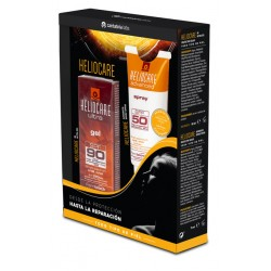 HELIOCARE Ultra Gel SPF90 50ML + Spray SPF50 75ML GRATIS