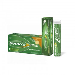 Berocca Performance Efervescente Naranja + Berocca Boost Guaraná