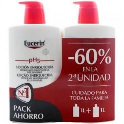 Eucerin pH5 Duplo Loción Enriquecida 2x1000ML