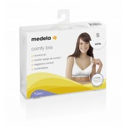 Medela Comfy Bra Tamaño S Color Blanco