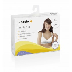 Medela Comfy Bra Tamaño XL Color Blanco