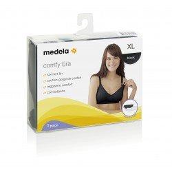 Medela Comfy Bra Tamaño XL Color Negro