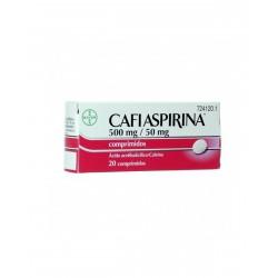 BAYER Cafiaspirina 500mg/50mg 20 Comprimidos