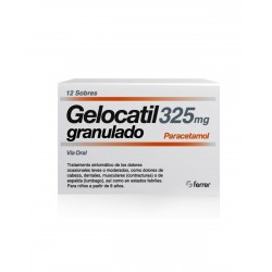 GELOCATIL 325MG Granulado 12 Sobres