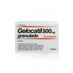 GELOCATIL 500MG Granulado 12 Sobres