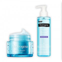 NEUTROGENA Hydro Boost Gel de Agua 50ML+NEUTROGENA Hydro Boost Limpiador Leche en Gel 200ML